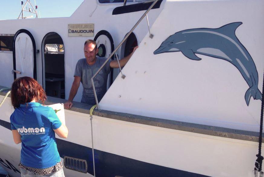 Colaboracion Sector pesquero. Dofins tramuntana